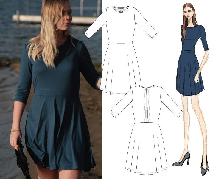 Stine-Goya-Blue-Dress