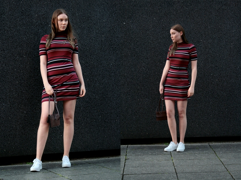 Knit dress outfit of the day inspiration from Mette Bramstrup